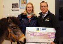 Edeka-Spende für Tierpark Neukölln